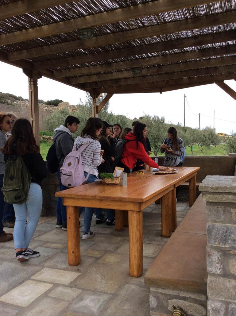 Επίσκεψη και γευσιγνωσία στο αγρόκτημα