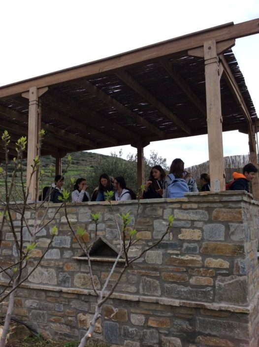 2018: Επίσκεψη του Γυμνασίου Παροικιάς