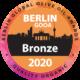 Το βραβείο ποιότητας που λάβαμε στον διεθνή διαγωνισμό ελαιόλαδου Βερολίνο 2020