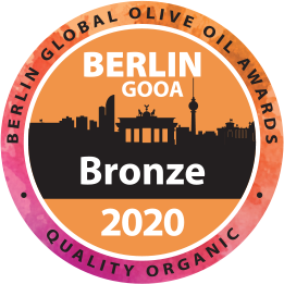 Our bronze award at the Berlin Global Olive Oil competition - 2020